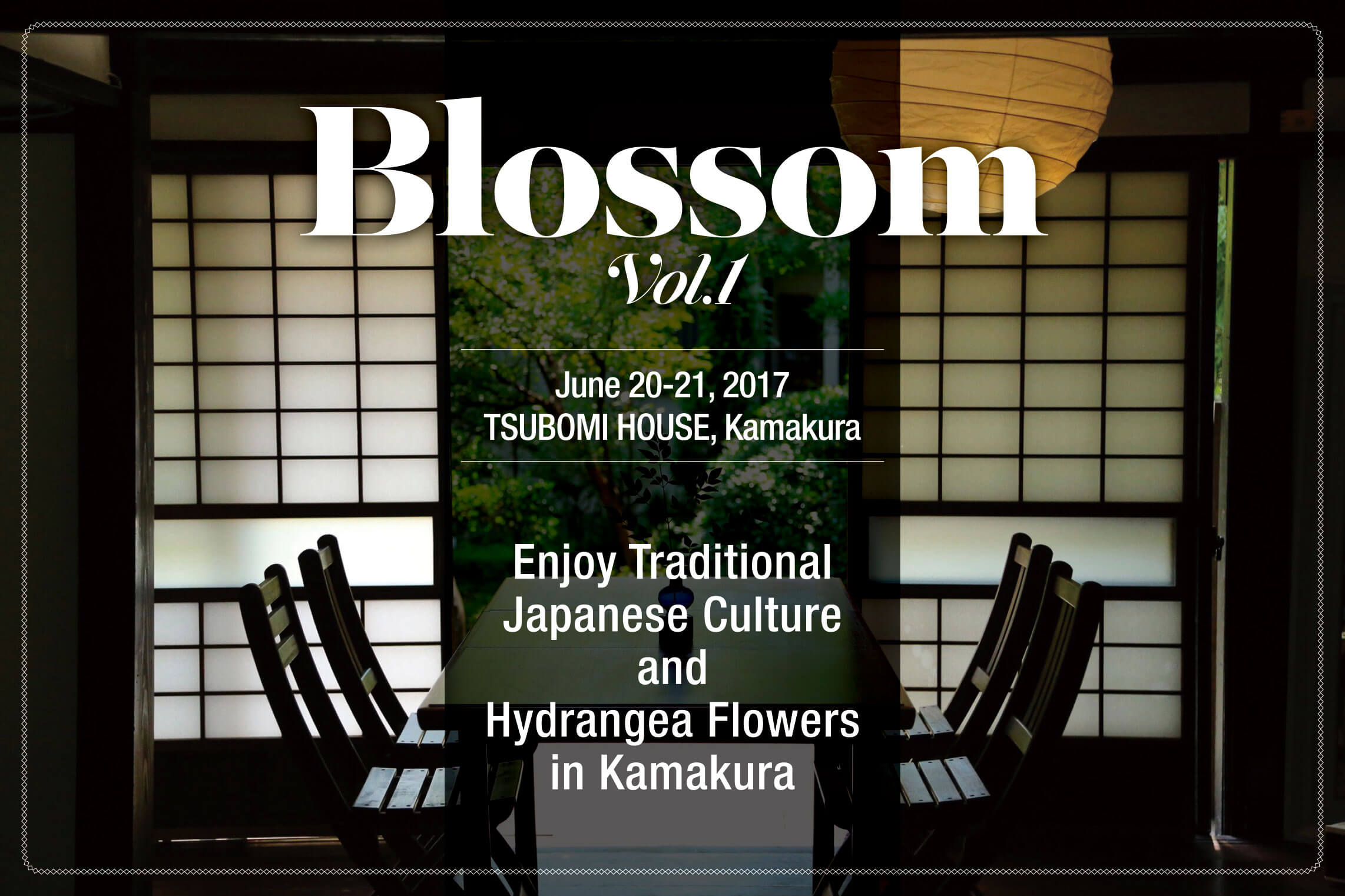 Photo of  Blossom Vol. 1 – 【2Days WORKSHOP】Know a Deeper Japan and Enjoy Traditional Japanese Culture in Kamakura.