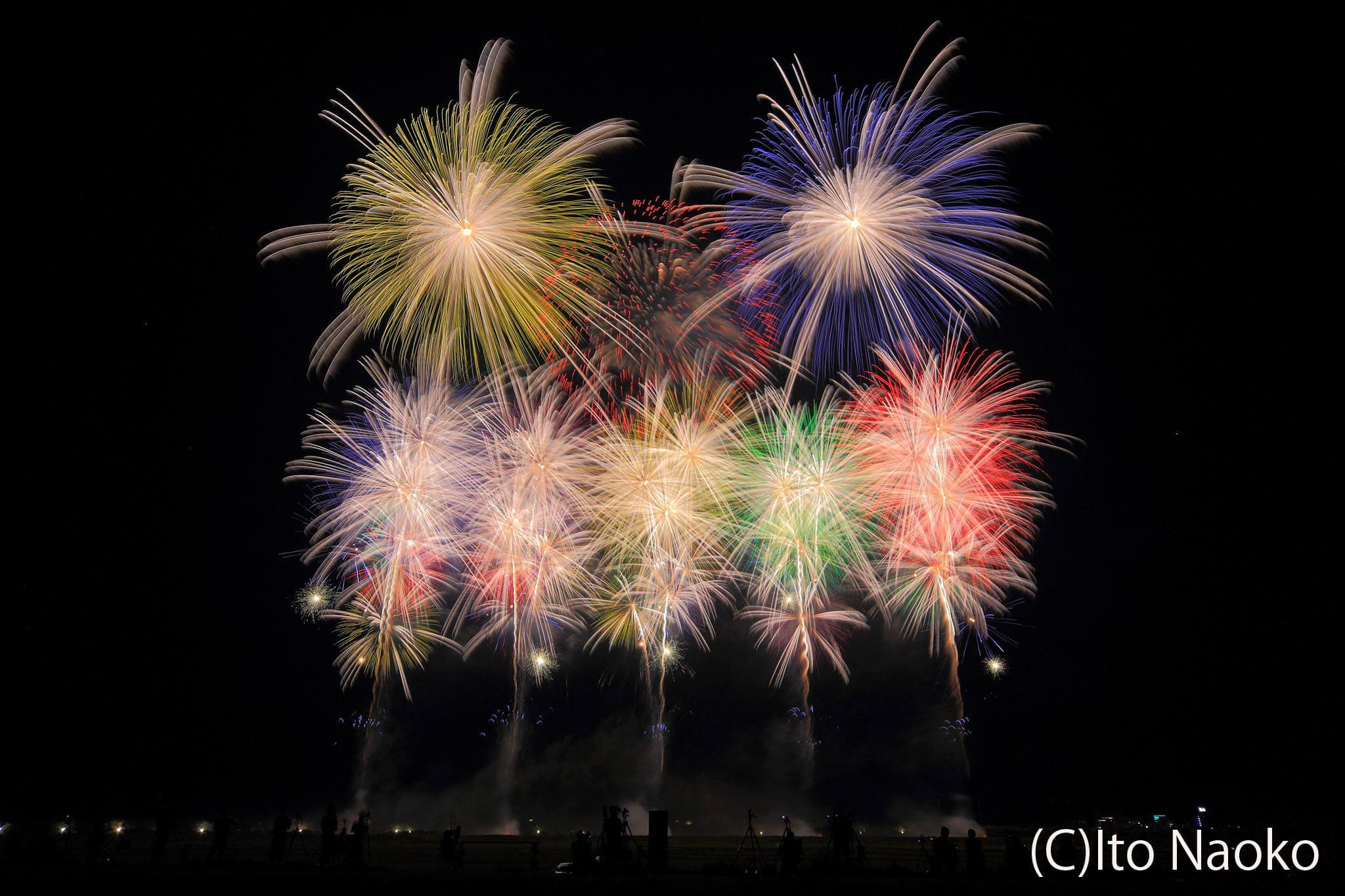 """Photo of The best combination of music and fireworks! """"Akagawa Fireworks Display"""" in Tsuruoka"""