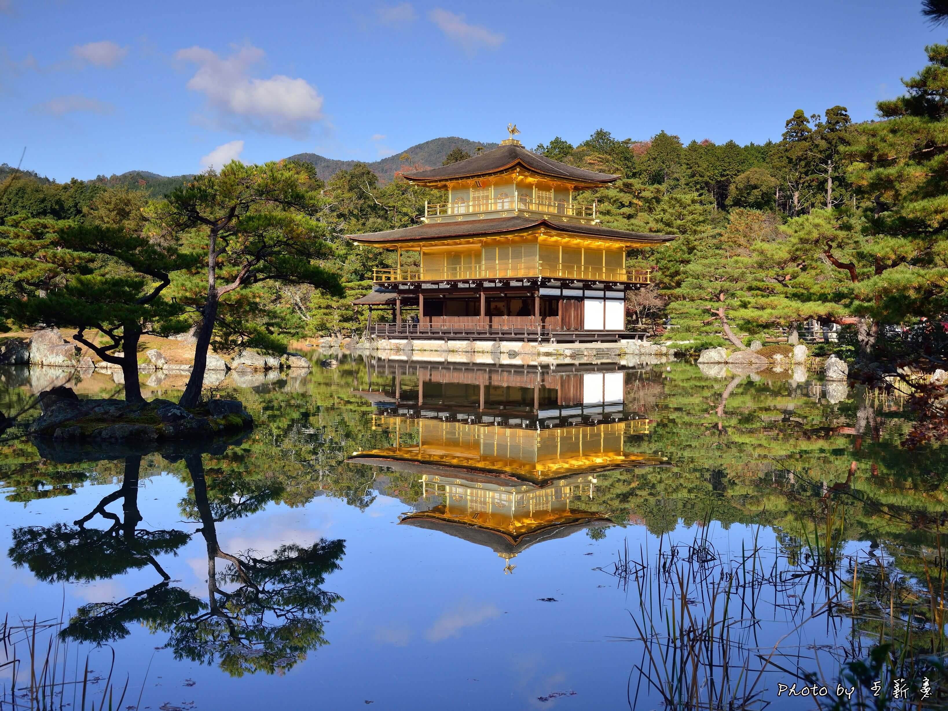 Photo of Deprived of the golden glow − Kinkaku-ji