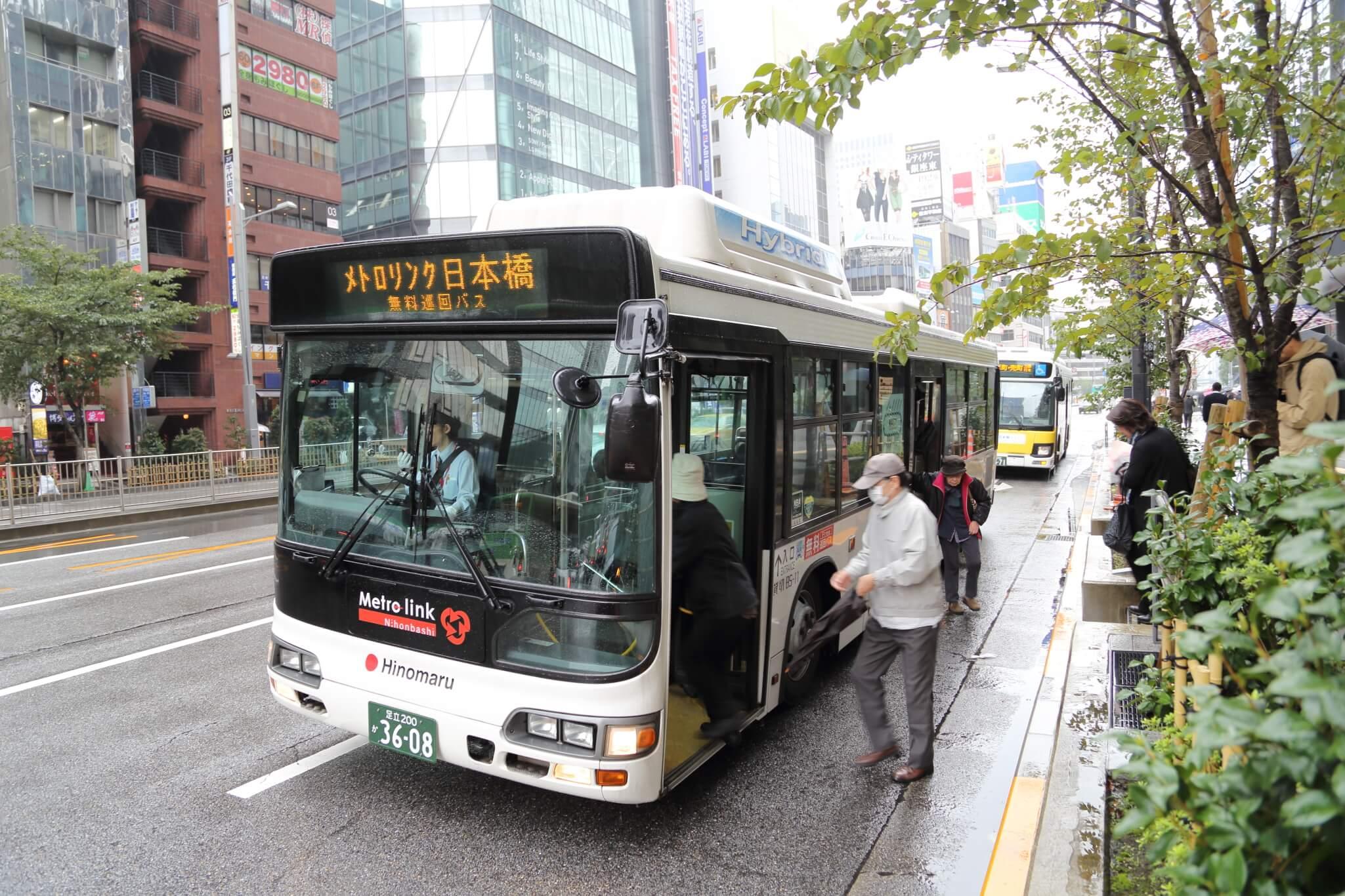 Photo of お買い物・観光の足に最適!無料巡回バス「メトロリンク日本橋」で巡るオススメスポット