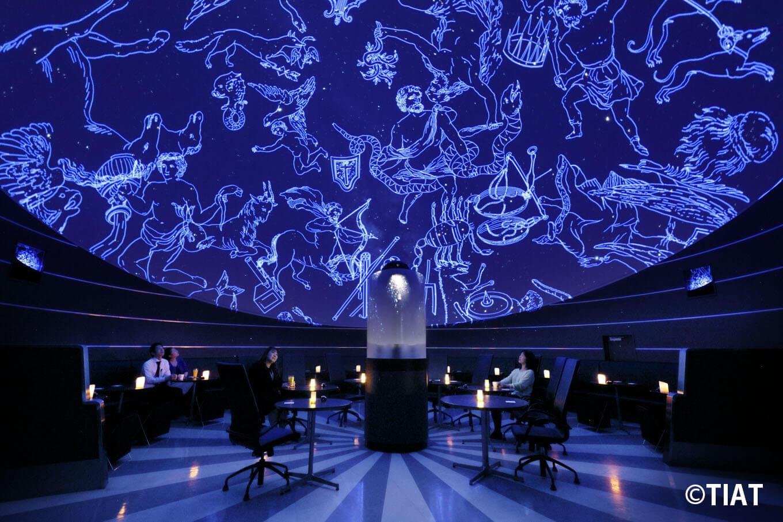 Photo of 都会の空港にいながら極上の星空を鑑賞!「PLANETARIUM Starry Cafe」