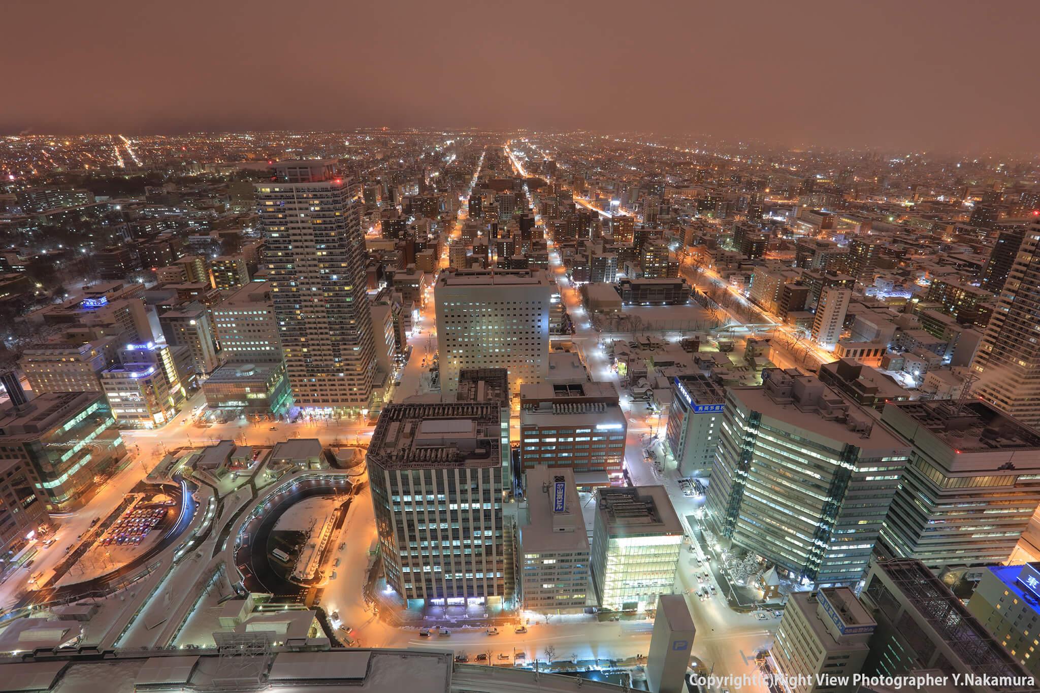 Photo of 札幌の中心から眺めるパノラマ夜景!雰囲気も上質な「JRタワー展望室 T38」