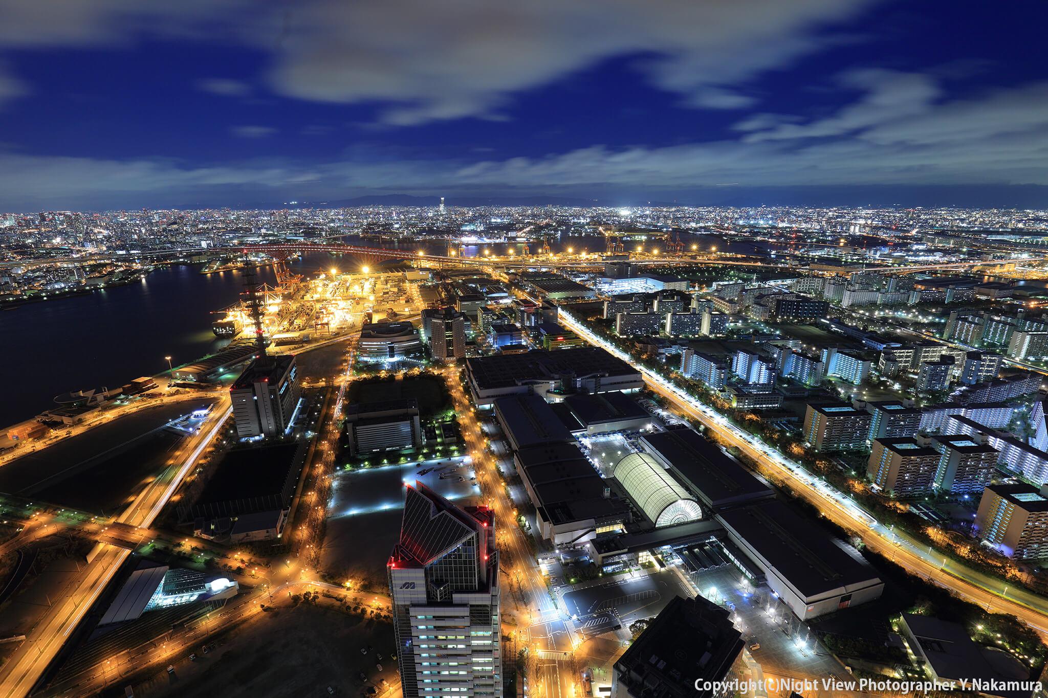 Photo of 大阪ベイエリアのランドマーク!ワイドな窓で開放的な「コスモタワー展望台」
