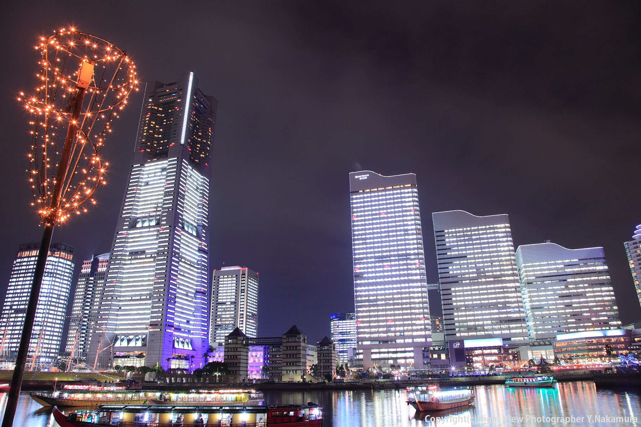 Photo of 横浜みなとみらい地区が最も輝く日!「全館点灯ライトアップ」オススメ鑑賞スポット3選