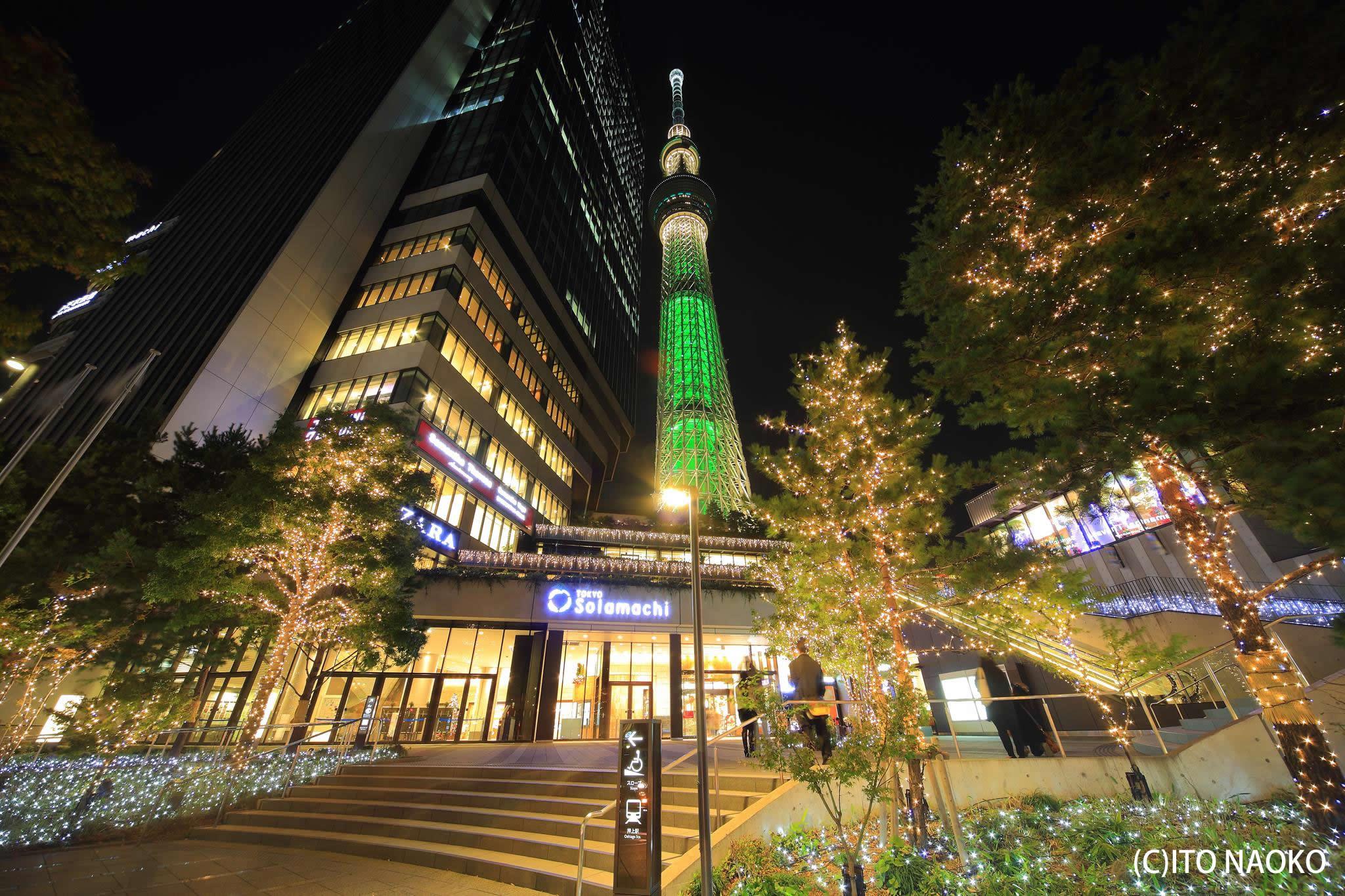 Photo of 世界一高いクリスマスツリー!?東京スカイツリーのクリスマス特別ライティング
