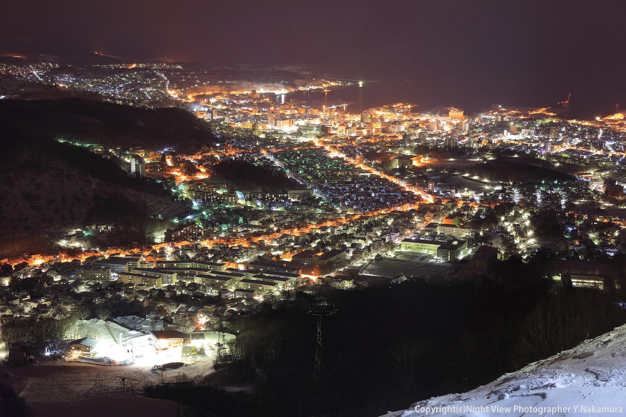 Photo of 小樽の街を一望できる街のシンボル!北海道三大夜景「天狗山」