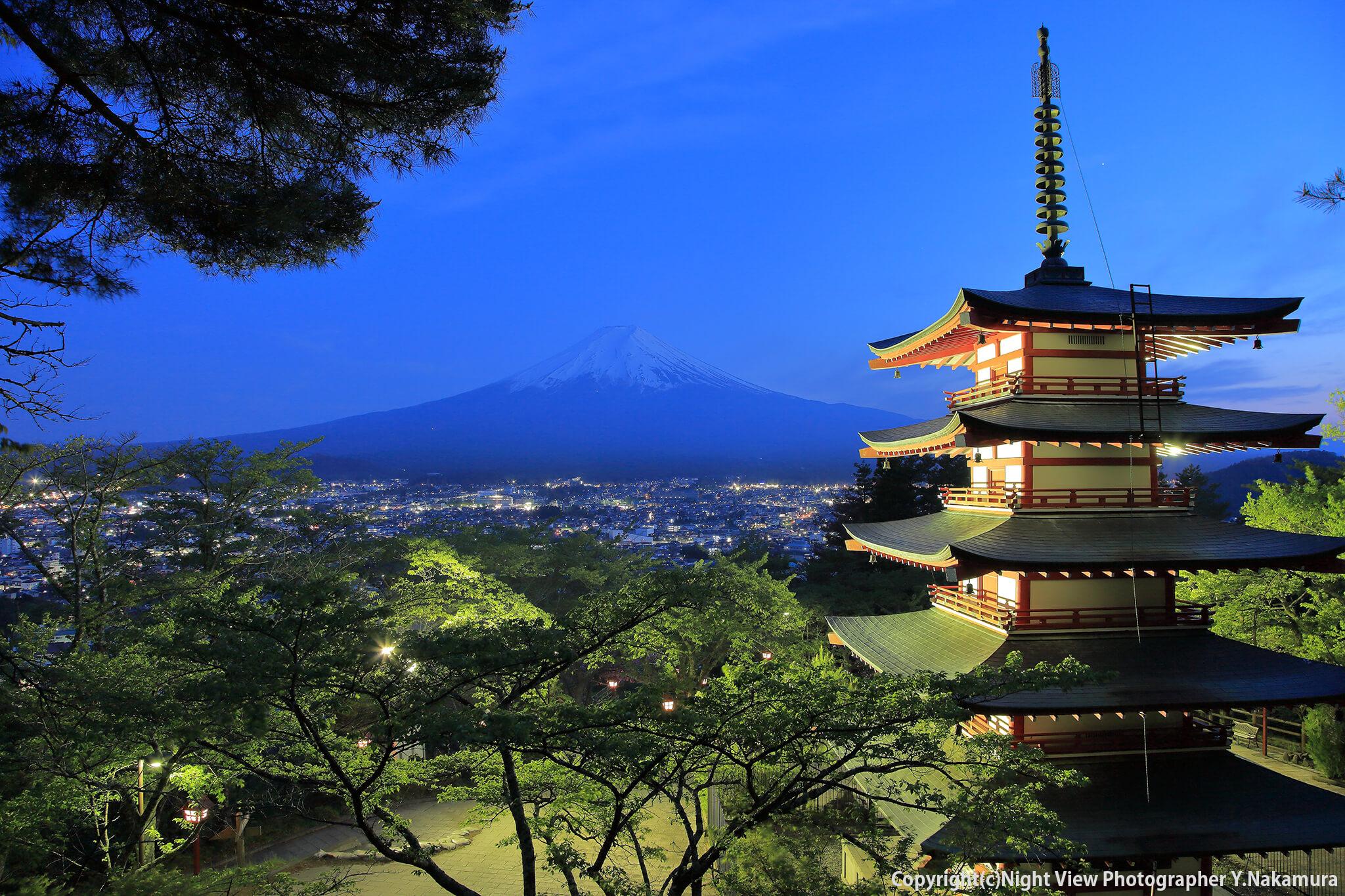 Photo of Ngắm núi Phú sĩ từ công viên Arakurayama Sengen
