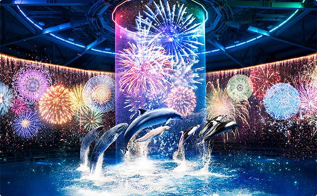 Photo of Tận hưởng mùa hè rực rỡ với pháo hoa kĩ thuật số 360 độ tại Maxell Aqua Park ở Shinagawa