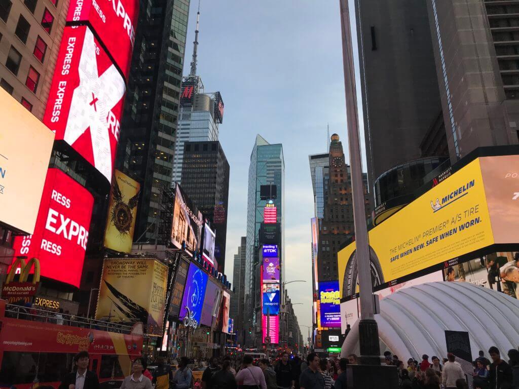 Ảnh Quảng trường thời đại \u2013 Time Square nổi tiếng của New York